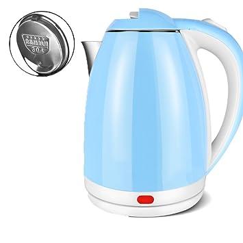 Calentador de agua eléctrico de acero inoxidable 304 hemisferio 2 litros de apagado automático hervidor de