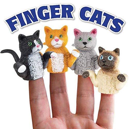 Finger Cats Set of 4 Puppets (Bulk)