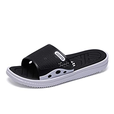 Sumeimiya Men's Eva Indoor House Sandals Casual Summer Beach Slippers Comfort Anti-Skidding Shower Slides: Clothing