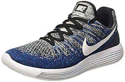 Nike Lunarepic Low Flyknit 2 Mens Road Running Shoes 863779-406 Size 8 D(M) US