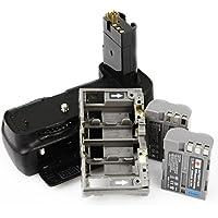 DSTE Pro MB-D200 Vertical Battery Grip + 2x EN-EL3E for Nikon D200 Fujifilm S5 SLR Digital Camera
