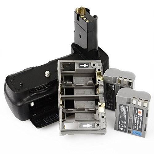 D200 Nikon Vertical Grip - DSTE Replacement for Pro MB-D200 Vertical Battery Grip + 2X EN-EL3E Compatible Nikon D200 Compatible Fujifilm S5 SLR Digital Camera