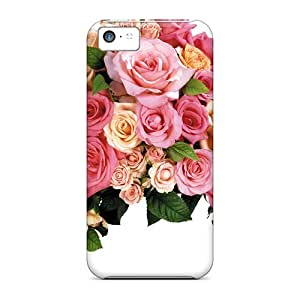 New Shockproof Protection Case Cover For Iphone 5c/ Huge Flower Arrangement Case Cover