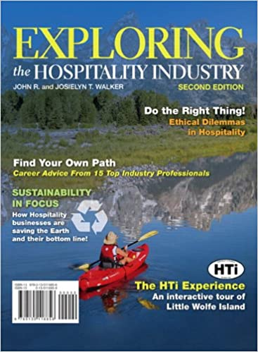 Exploring the hospitality industry 2nd edition john r walker exploring the hospitality industry 2nd edition john r walker 9780135118856 amazon books fandeluxe Gallery