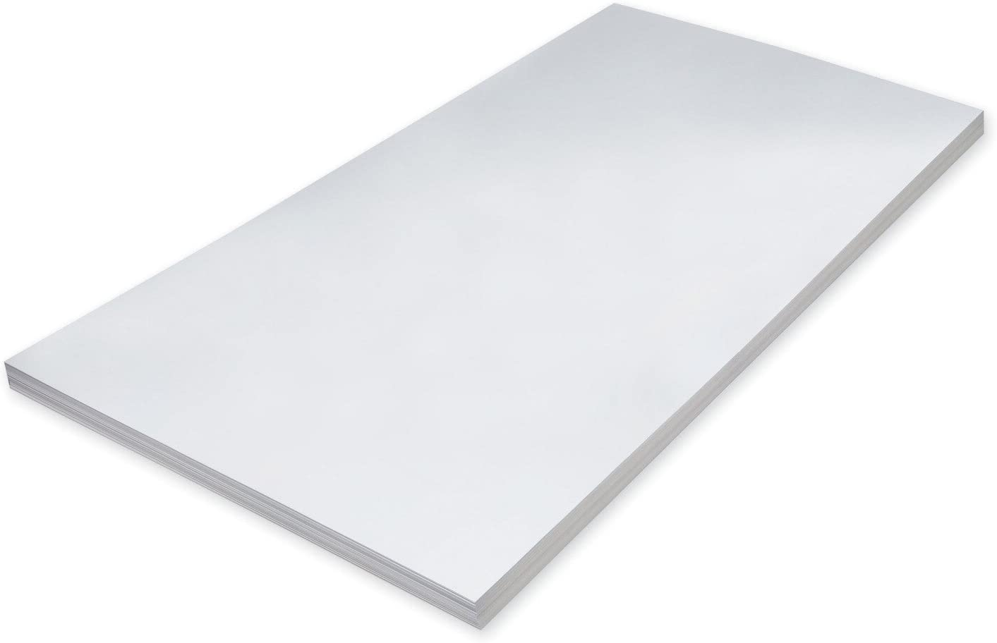 24 x 36 Inches Pack of 100 Pacon Super Heavyweight Tagboard 11.5 Pt White