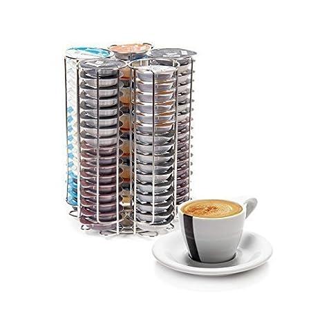 Nuevo Tassimo Pod soporte para 48 monodosis de café T-DISC dispensador de cápsulas Acero inoxidable - Limited Stock a este precio. tassimo - 80: Amazon.es: ...