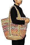 TRIBESMANGOLD--Boho Crossbody Shoulder Hemp Tote Bag Bohemian Shopping Beach Leisure Handbag Tribal Pattern