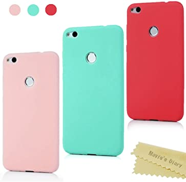 Maviss Diary Huawei P8 Lite 2017 Funda Carcasa Silicona Gel Goma Flexible Case Ultra Delgado TPU Cover Protectora para Huawei P8 Lite 2017: Amazon.es: Electrónica
