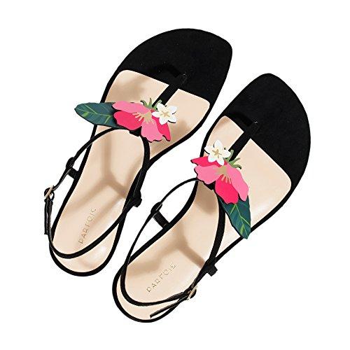 Parfois Tucan Collection Sandals - Women Black wgaDW