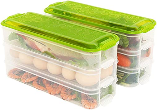 2 UNIDS cocina despensa refrigerador congelador caja de ...