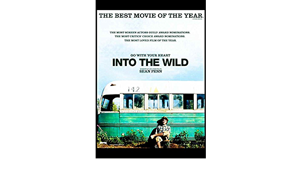 2007 movie gloss poster 17 x 24 inches Into the Wild