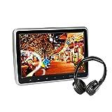 Car Headrest DVD Player 10.1 inch TFT LCD Screen Headrest Video Monitor, Portable