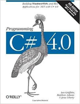 Book Programming C# 4.0