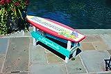 Margaritaville Outdoor Surfboard Coffee Table