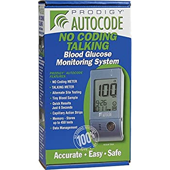 Amazon Com Prodigy Autocode Talking Meter Kit Health