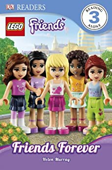 dk readers l3 lego 174 friends friends forever find out