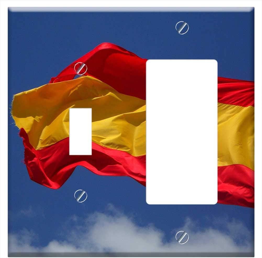 Funda para placa de pared, diseño de bandera de España: Amazon.es: Bricolaje y herramientas