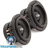 PAIR SA-6.5 SW D4 Sundown Audio 6.5 200W RMS Dual 4-Ohm SA Series Subwoofers