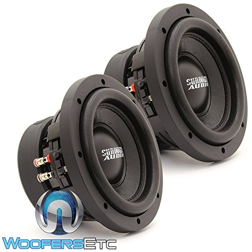 Pair SA-6.5 SW D4 Sundown Audio 6.5″ 200W RMS Dual 4-Ohm SA Series Subwoofers