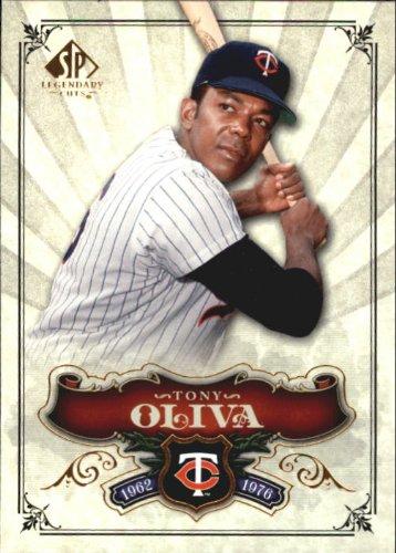 2006 SP Legendary Cuts Baseball Card #16 Tony Oliva