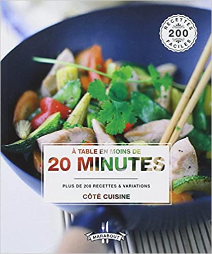 Collections eBookStore: A table en moins de 20 minutes in French iBook