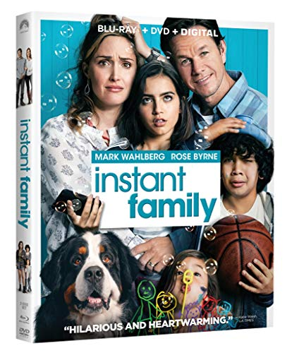 Instant Family Blu ray Mark Wahlberg product image