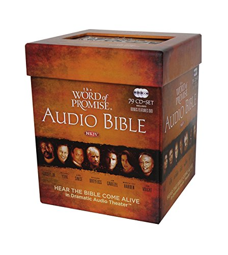 The Word of Promise Audio Bible: New King James Version by HarperCollins Christian Pub.