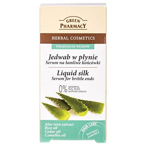 Green Pharmacy fluidos seda con aloe vera 30 ml