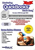 Mastering QuickBooks Made Easy Training Tutorial v. 2008 through 2004 - How to use QuickBooks Video e Book Manual Guide. Even dummies can learn from ... through Advanced material from Professor Joe