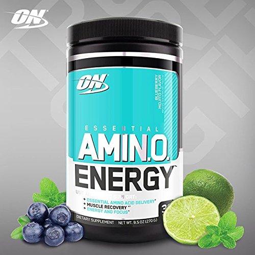 Optimum Nutrition Amino Energy, Blueberry Mojito 30S x 2 Pack