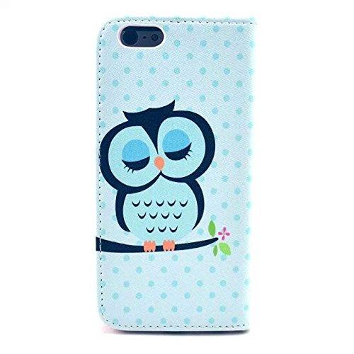Monkey Cases® iPhone 6 Plus 5,5 Zoll - Flip Case - EULEN - cover - Matt - Premium - original - neu - Tasche #6