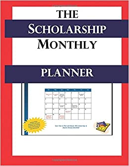 buy the scholarship monthly planner book online at low prices in