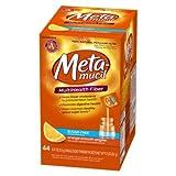 Metamucil Orange Sugar Free Smooth Texture Powder Packets 44-Count (Pack of 6)