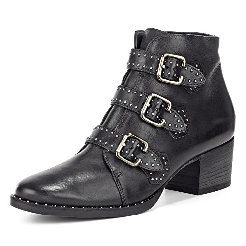 Boot Noir Paul Green 9125 Ankle Yq06wa