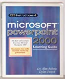 123 Instructions 4 Microsoft PowerPoint 2000, Roberts, Alan and Fareed, Dylan, 0967805317