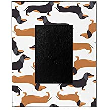 CafePress - Cute Dachshunds - Decorative 8x10 Picture Frame