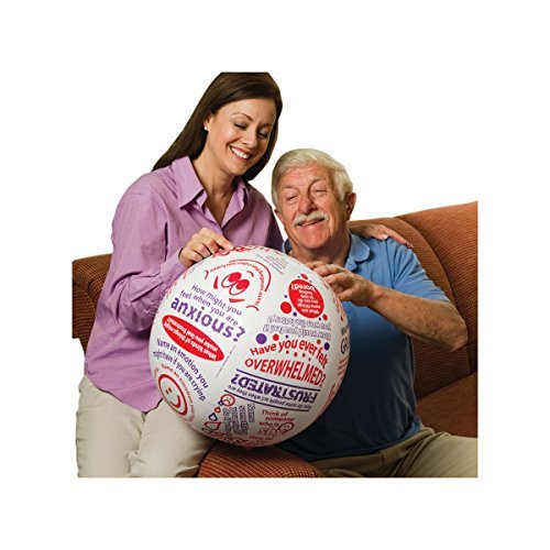 S&S Worldwide 18131 Toss 'N Talk-About Emotions Ball (About Question Ball)