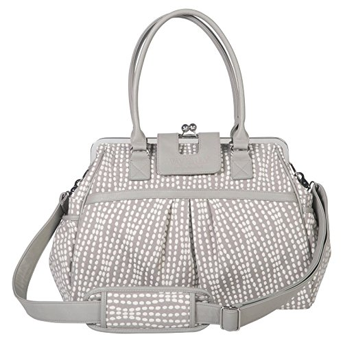 - Waverly Baby by Trend Lab Strands Sterling Framed Diaper Bag