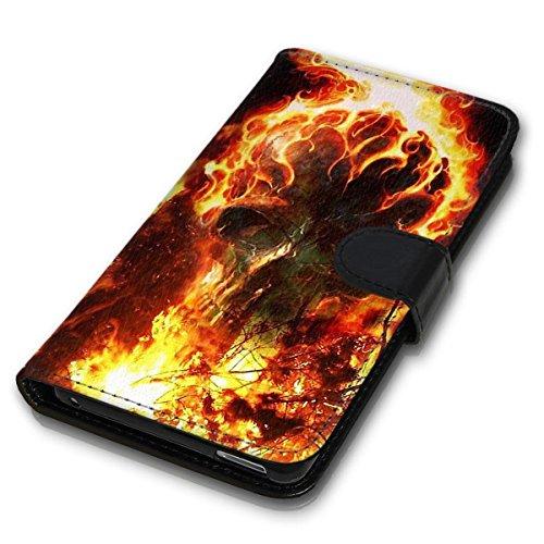 Wallet Book Style Flip Handy Tasche Case Schutz Hülle Schale Motiv Etui für Apple iPhone 4 / 4S - Design Flip MVD375