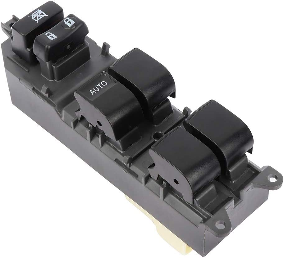 8482033250 8482033251 8482006061 LSAILON Master Power window Switch Front Left Driver Side fits for TOYOTA CAMRY 2008-2014 TOYOTA HIGHLANDER 2008-2013 Replace for the Factory OE8482006060