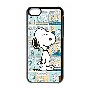 The fanciful Snoopy. Joe cool Snoopy Hard Plastic phone Case Cove For Iphone 5c JWH9152960