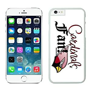 NFL iPhone 6 Plus 5.5 Inches Case NFL Arizona Cardinals Iphone 6 Cases White 5.5 Inches Cell Phone Case ONXTWKHC3174