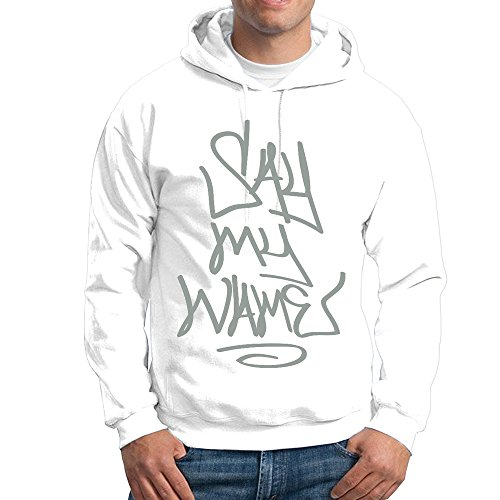 Stickle Men's Leisure Say My Name Hoodies XXL White (Polish National Soccer Team compare prices)