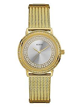 Guess Women's Quartz Stainless Steel Dress Watch, Color:gold-toned (Model: U0836l3) 0