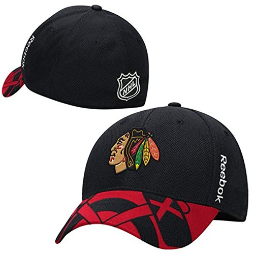 Youth Chicago Blackhawks 2015 Center Ice Draft Hat Reebok NHL Official Cap ()