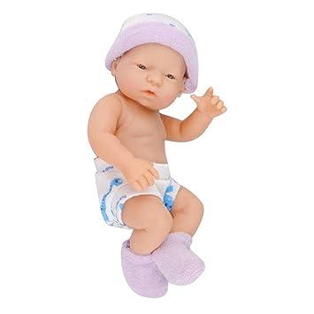 AOLVO Muñeca bebé recién Nacido realike, Vinilo Suave Silicona Alive Muñeca para Regalos para bebé 10,5