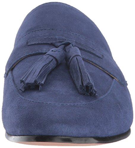 Loafer Paris Slip Poseidon Suede Blue Sam Edelman Women's on xqFwWEXS