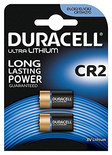 Pack of 2 Duracell CR2 3v Lithium Photo Battery DLCR2 ELCR2 CR17355 1CR2 KCR2