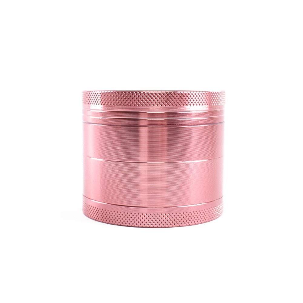 Yzyamz Herb Grinder Aluminum Rose Gold Grinder Portable Manual Grinder Bench Grinder, 2'' (60Mm) by Yzyamz