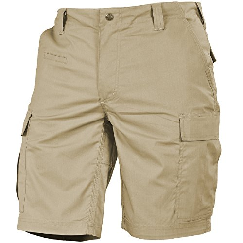 Pentagon Men's BDU 2.0 Shorts Khaki Size 42